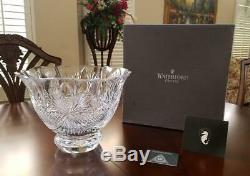 Waterford Crystal TIMES SQUARE HOPE FOR PEACE PUNCH BOWL NIB LIMITED EDITION