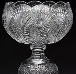 Waterford Crystal large Seahorse Punch Bowl rrp £1500 New