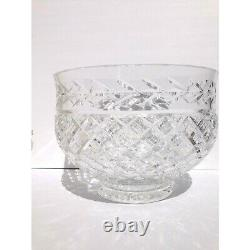 Waterford Glandore Large Punch Bowl Crystal