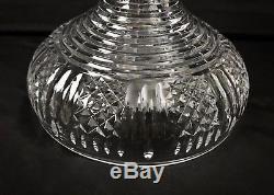 Waterford Period Piece Crystal 2 Piece Centerpiece Punch Bowl Ireland