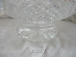 Waterford crystal Heirloom footed punch bowl