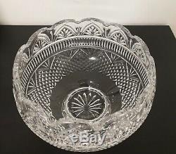 Waterford wedding punch bowl crystal