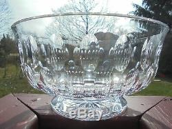 William Yeoward Crystal Glass Extra Large Victoria Punch Centerpiece Bowl 12